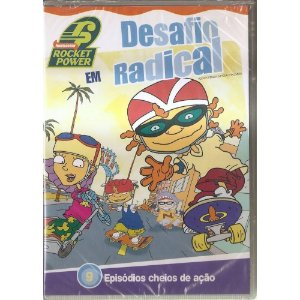 Dvd - Rocket Power Em Desafio Radical
