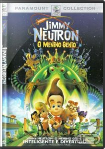 Dvd - Jimmy Neutron O Menino Gênio