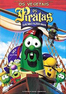 Dvd - Os Vegetais E Os Piratas Que Não Fazem Nada
