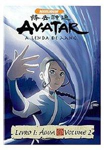 Dvd - Avatar - A Lenda De Aang - Livro 1: Água - Volume 2