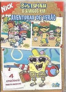 Dvd - Bob Esponja E Amigos Em Aventuras De Verão