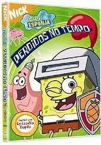 Dvd Bob Esponja Perdidos No Tempo