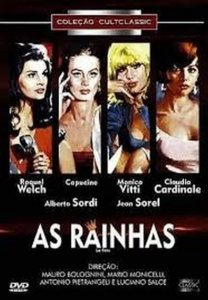 Dvd - As Rainhas - Claudia Cardinale