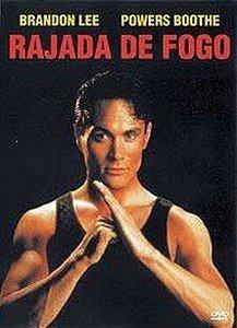 Dvd Rajada De Fogo - Brandon Lee