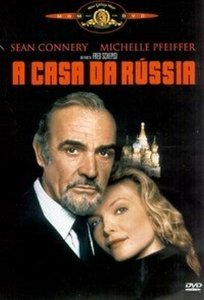 Dvd A Casa Da Rússia - Sean Connery