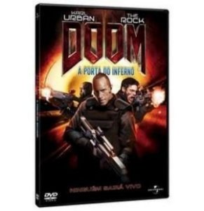 DVD Doom - A Porta do Inferno - Dwayne Johnson