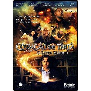 Dvd  Coração De Tinta  O Livro Mágico