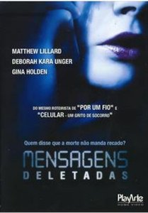 Dvd - Mensagens Deletadas