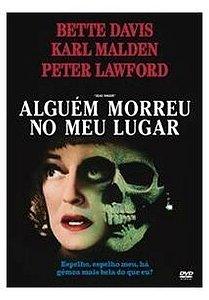 DVD - Alguem Morreu No Meu Lugar - Bette Davis - Warner
