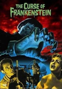 Dvd A Maldição De Frankenstein - Christopher Lee - Warner
