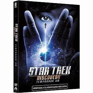 DVD Star Trek Discovery - Temporada Um (4 DVDs)