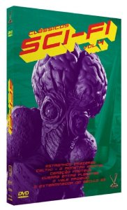 Dvd Clássicos Sci-Fi - Vol. 4 - Versátil 3 DVDs