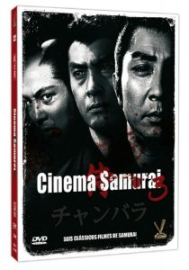 Dvd - Cinema Samurai - Vol. 3 - 3 Discos