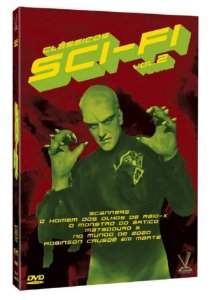 Dvd - Clássicos Sci-Fi - Vol. 2 - 3 Discos