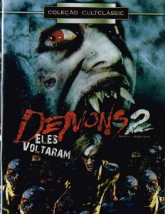 Dvd - Demons 2 - Eles Voltaram (1986) - Lamberto Bava