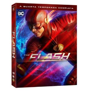 DVD The Flash  4 Temporada  5 Discos