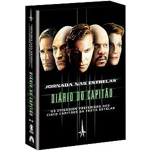Box Dvd Jornada Nas Estrelas - Diário De Capitão - 5 Dvds