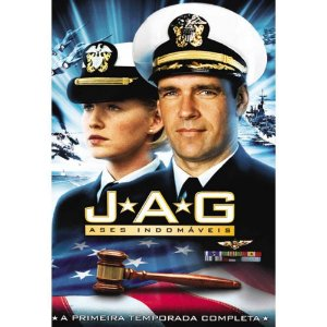 Box dvd - Jag Ases Invencíveis - 1 Temporada - 6 Dvds