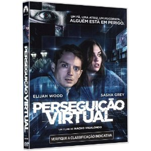 DVD - Perseguição Virtual - Elijah Wood