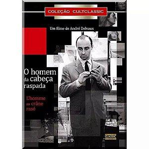 Dvd O Homem Da Cabeça Raspada - André Delvaux