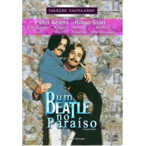 Dvd Um Beatle no Paraíso - Peter Sellers - Ringo Starr
