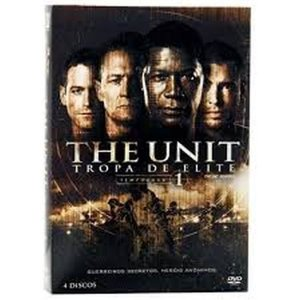 Box Dvd - The Unit: Tropa De Elite - 1 Temporada - 4 Discos