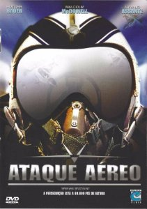 Dvd  Ataque Aéreo  Malcolm Mcdowell