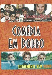 Dvd Comédia Em Dobro - Escola De Rock - Totalmente Sem Rumo