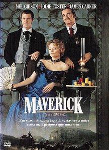 DVD Maverick - Mel Gibson - Jodie Foster