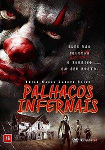 DVD Palhaços Infernais