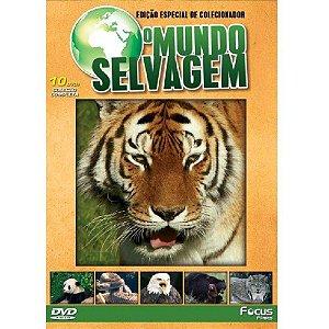 Dvd O Mundo Selvagem Edição Especial De Colecionador 10 dvds