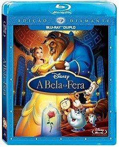 Blu ray Duplo  A Bela e a Fera  Edição Diamante