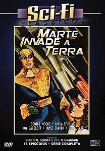 Dvd - Sci-fi Clássicos: Marte Invade A Terra - 15 episódios