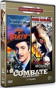 Dvd As Aventuras de Tartu / Inteligência Britânica