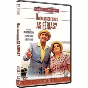 Dvd - Onde Passaremos As Férias - Alberto Sordi