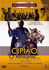 Dvd - Cipião, O Africano: General De César - Luigi Magni