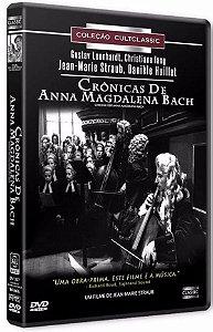 Dvd - Crônicas De Anna Magdalena Bach - Jean Marie Straub