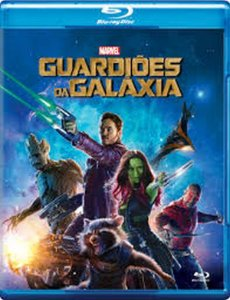 Bluray Guardiões Da Galáxia Chris Pratt