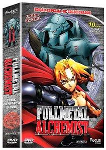 Box Dvd  Fullmetal Alchemist  10 Discos