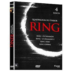 Box Dvd Ring O Chamado  Quadrilogia Do Terror