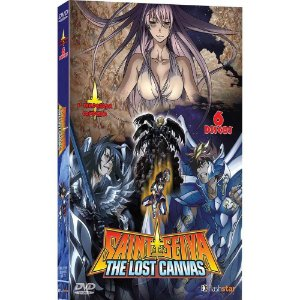 Box Dvd Coleção Cavaleiros do Zodíaco  The Lost Canvas  1ª Temporada