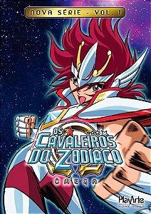 Dvd Os Cavaleiros do Zodíaco Ômega  Nova Série Volume 1