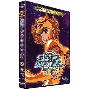 Dvd Os Cavaleiros do Zodíaco Ômega Nova Série Volume 2