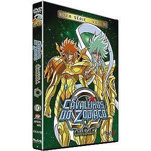Dvd  Os Cavaleiros do Zodíaco  Ômega  Nova Série  Volume 10