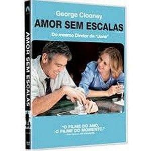 DVD  Amor sem Escalas  George Clooney
