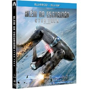 Bluray 3D + BluRay  Star Trek  Alem da Escuridao