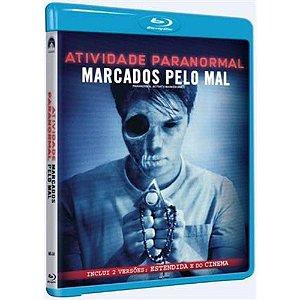 Blu Ray Atividade Paranormal  Marcados Pelo Mal
