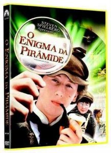 Dvd  O Enigma Da Pirâmide  Steven Spielberg