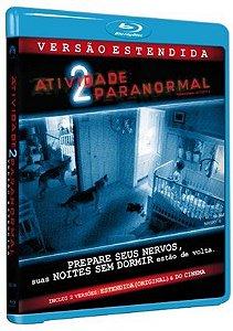 Blu Ray  Atividade Paranormal 2  Versão Estendida
