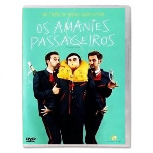 Dvd  Os Amantes Passageiros  Pedro Almodóvar